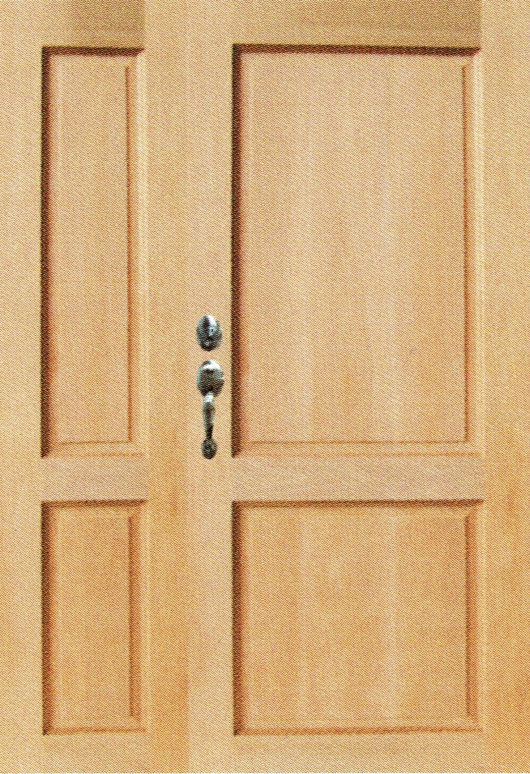 ST 32D(Solid Timber Door (Double Leaf Unequal Leaf))