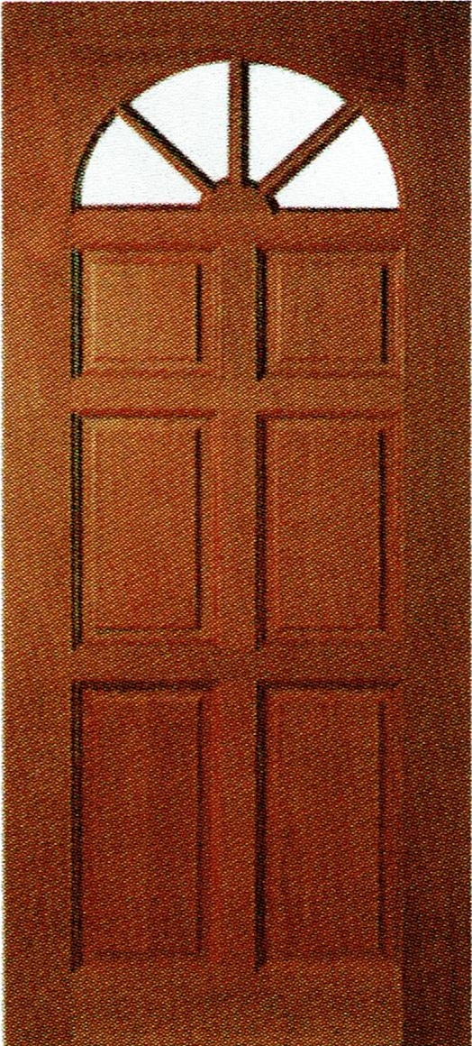 Solid Timber Door With Glass View