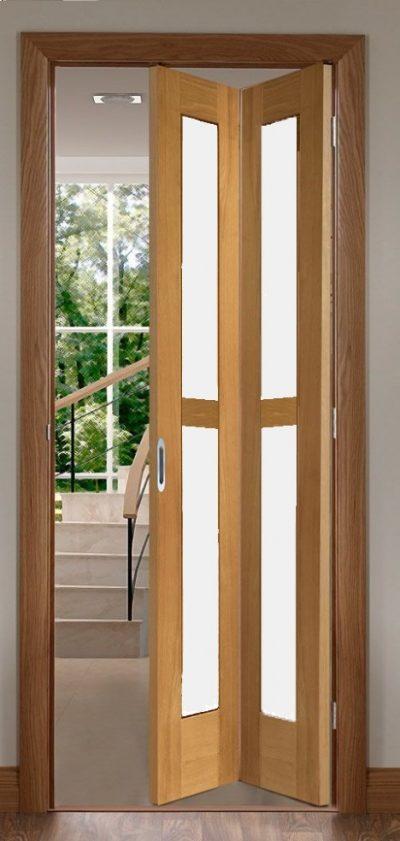 Wooden BI Fold door